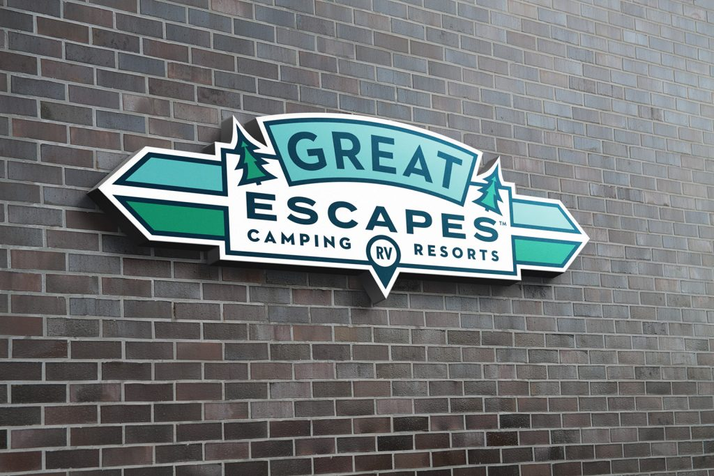 Great Escapes Family Signage