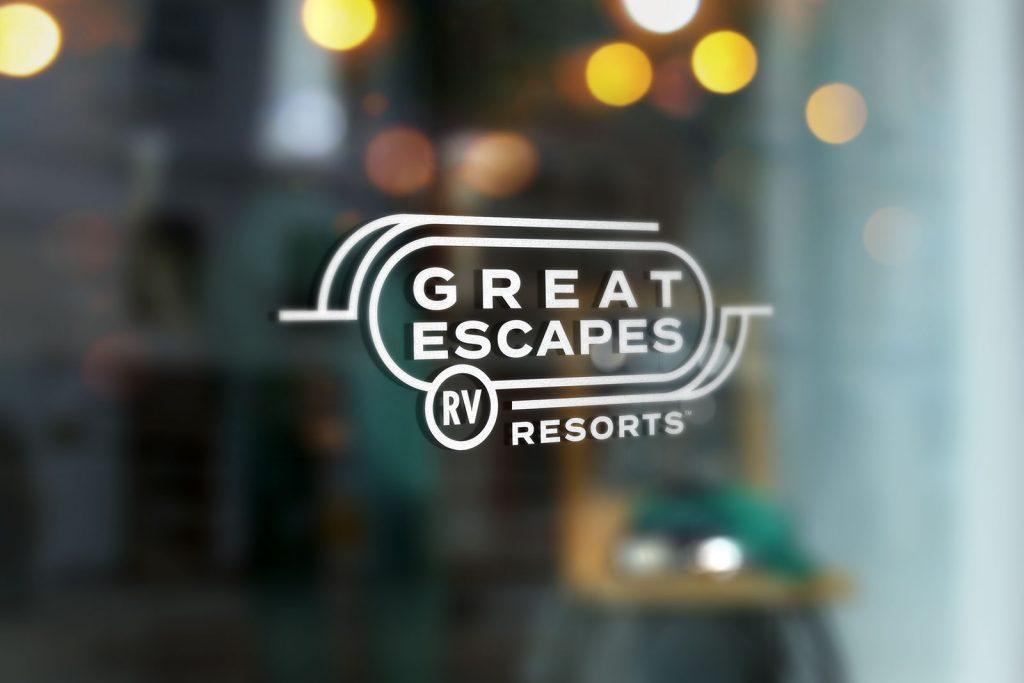 Great Escapes Logo Design